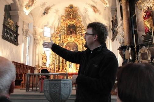 Vortrag von Daniel Schärer über geschichtliche Überlieferung